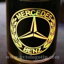 Пепельница с логотипом автомобиля 2D