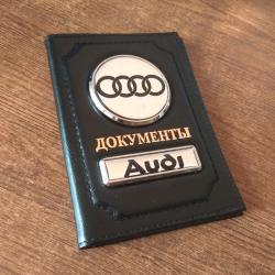 Обложка для документы с логотипом автомобиля