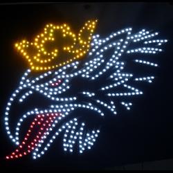 Светящиеся логотипы грузовиков