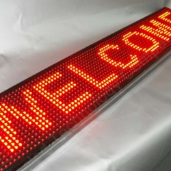 автомобильная бегущая строка синяя bx-5u16*64 распродажа