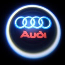 беспроводная подсветка дверей с логотипом audi беспроводная подсветка 7w