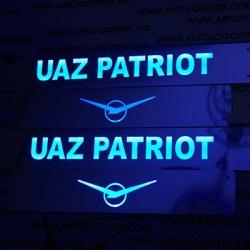 накладки на пороги с подсветкой уаз патриот накладки на пороги c подсветкой