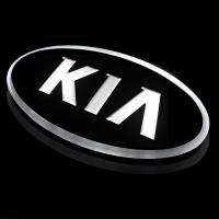 2D светящийся логотип KIA