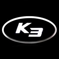2D светящийся логотип KIA K3 Ledist