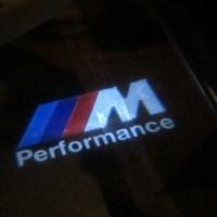 Штатная подсветка дверей BMW M Performance