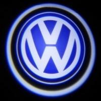 Штатная подсветка дверей Volkswagen 7W