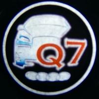 Беспроводная подсветка дверей с логотипом AUDI Q7 5W