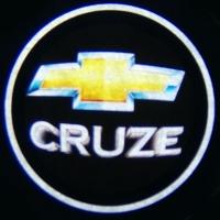 Беспроводная подсветка дверей с логотипом CHEVROLET CRUZE 5W