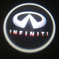 Штатная подсветка дверей INFINITI QX56