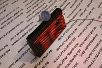 автомобильная бегущая строка красная bx-5u16*32 стандартное разрешение