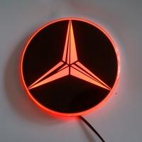 Светящийся логотип Mercedes Sprinter