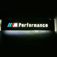 Пороги с подсветкой BMW E34 зеркальное золото