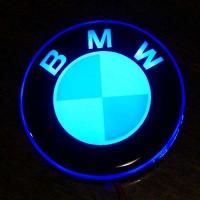 2D светящийся логотип BMW на мотоцикл
