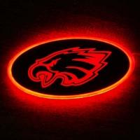 """Светящийся логотип """"Голова орла"""""""