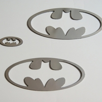 Логотип Batman на ВАЗ КАЛИНА2