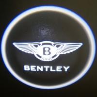 Беспроводная подсветка дверей с логотипом Bentley 7W