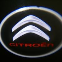 Беспроводная подсветка дверей с логотипом Citroen