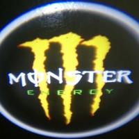 Внешняя подсветка дверей с логотипом Monster 5W