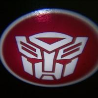 Беспроводная подсветка дверей с логотипом Autobots 7W