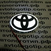 2D светящийся логотип TOYOTA