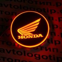 2D светящийся логотип Honda на мотоцикл