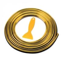 Лента для отделки салона, золото алюм