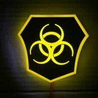 Светящийся логотип Quarantine (Карантин)