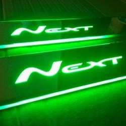 Светящиеся накладки на пороги Gazel Next