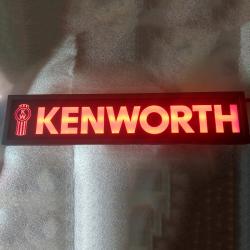 Картина логотип в спальник Kenworth