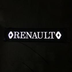Светящаяся табличка Renault