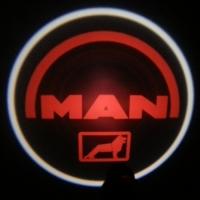 Внешняя подсветка дверей с логотипом Man 5W