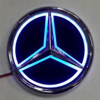 5D светящийся логотип MERCEDES