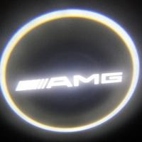 Беспроводная подсветка дверей с логотипом AMG