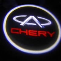 Беспроводная подсветка дверей с логотипом Chery