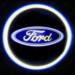 Штатная подсветка дверей Ford