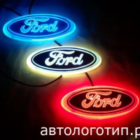 4D светящийся логотип FORD