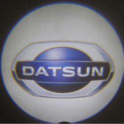 Беспроводная подсветка дверей с логотипом Datsun