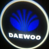 Беспроводная подсветка дверей с логотипом Daewoo 5W