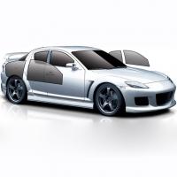 Съемная тонировка Audi 100